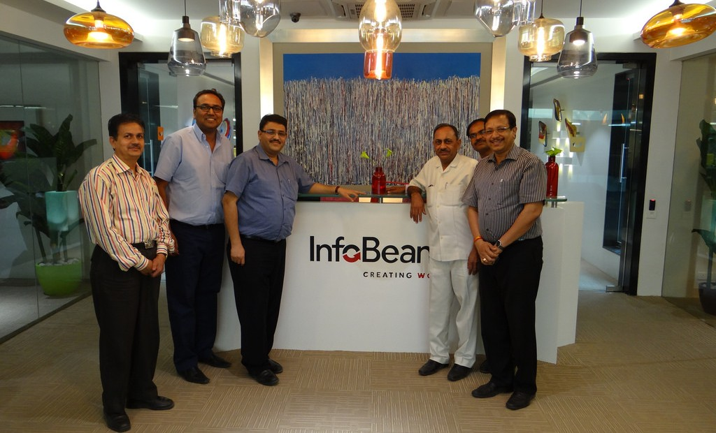 IT Department Dignitaries at InfoBeans