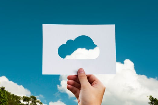 Cloud Image In Hand