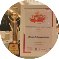 """Best Corporate Social Responsibility Practices"" Award by PRIDE Of Madhya Pradesh Awards"