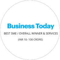 India's Best SME Award 2019 – Overall Winners & Services (Rs. 10-100 Cr) by Business Today