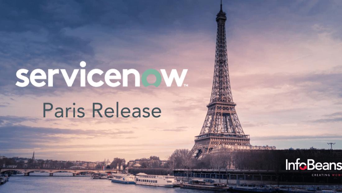 ServiceNow Paris Release